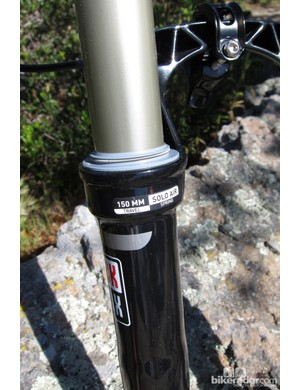 The 650B Revelation will be available in a 100-150mm travel range