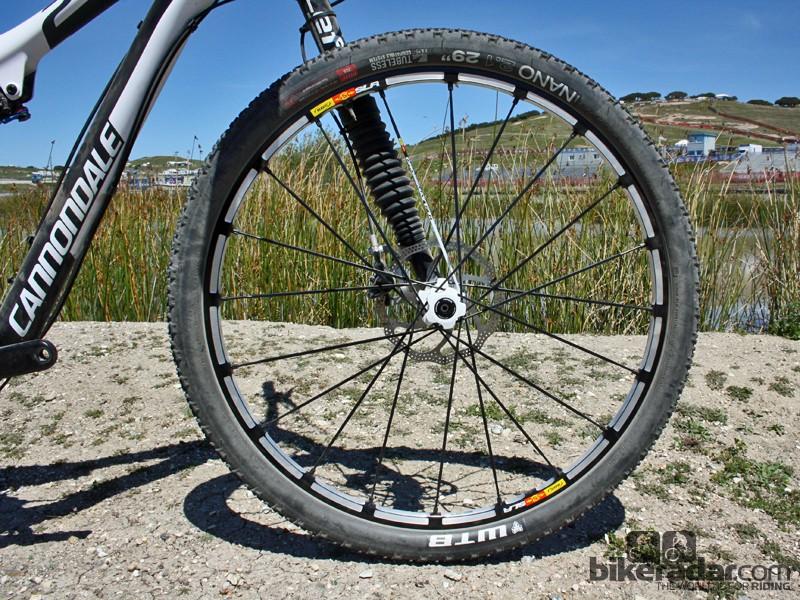 The new Crossmax SLR 29 wheel certainly keeps the Mavic 'look' going