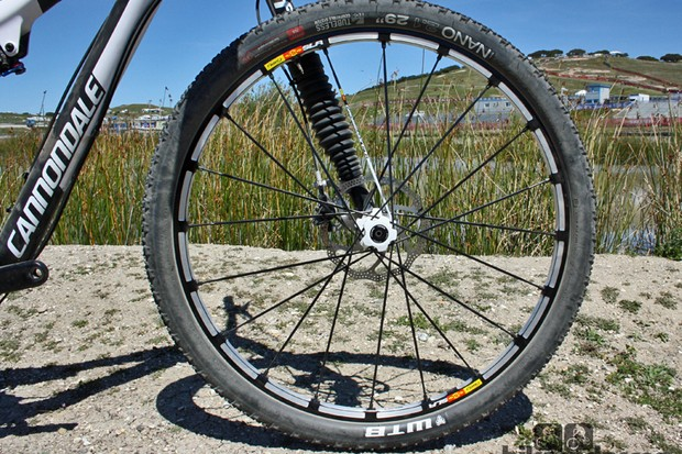 The new Crossmax SLR 29 wheel certainly keeps the Mavic 'look' going