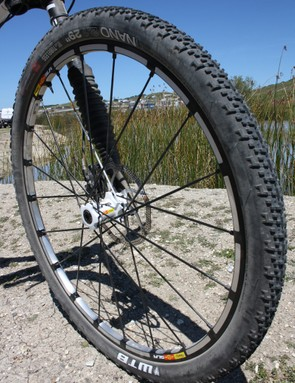 Want a wheel to fit Cannondale's single-sided Lefty forks? Mavic can do that for you too