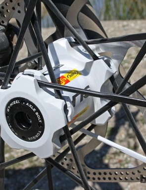 Another view of the Lefty-compatible Crossmax SLR hub