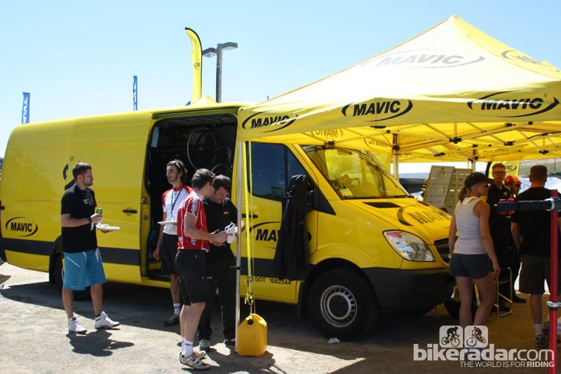 Sea Otter 2012: Mavic expand 29er wheel range - BikeRadar
