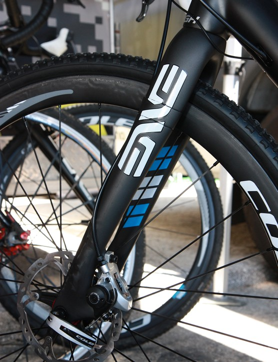 The ENVE Composites fork is perhaps the best disc-compatible 'cross fork we've ridden