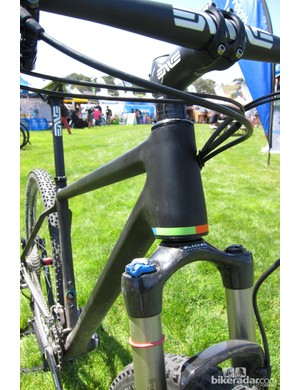 Open use a tapered head tube