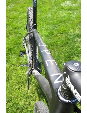 The O-1.0 is said to be the lightest frame to pass EFBe's mountain bike testing