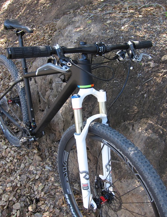 Open say they'll spec a 2013 RockShox fork but have yet to determine the model