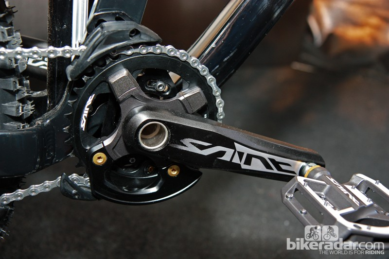Shimano previewed a new chain guide to go along with their new Saint and Zee groups
