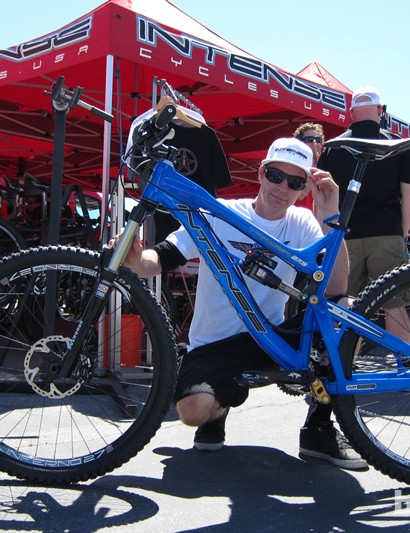 Jeff Steber and his Tracer 27.5