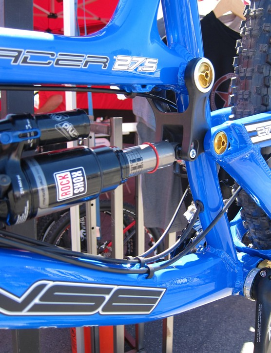 The Tracer 27.5 debuts Intense's Reverb Stealth cable routing, among other features