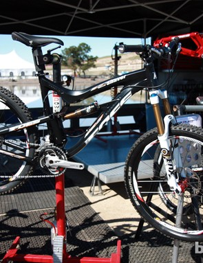Foes introduced the 26in-wheeled Shaver 'Ultra Trail' bike last year