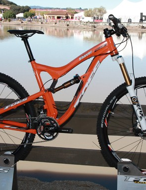 Foes have added a new 29er variant of last year's Shaver 'Ultra Trail' bike for 2013
