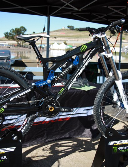Foes introduced the Hydro downhill bike last year and have already made a few big improvements for 2013
