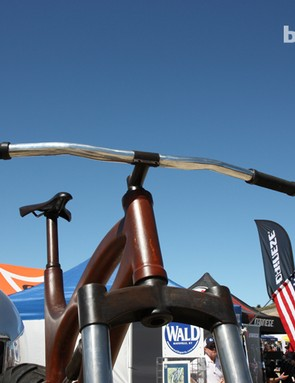 The bars on the Ibis Maximus are 64in wide. Needless to say, there should be plenty of leverage available here