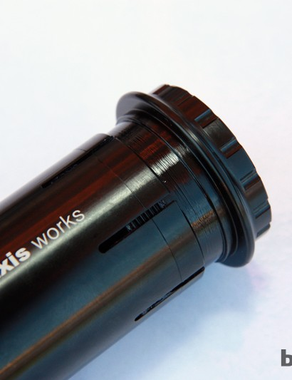 Praxis Works showed what we feel is the most thoroughly designed BB/PF30-to-24mm bottom bracket adapter currently on the market