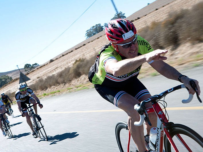 Stephen Roche, in action during The Cape Rouleur in South Africa last month, still harbours a huge passion for the sport