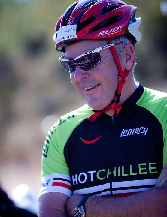 Stephen Roche on The Cape Rouleur