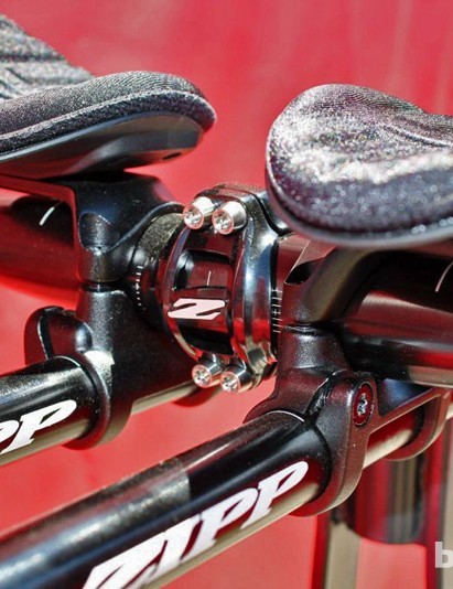 Zipp opted for Torx bolts at all junctions, given aerobars' need for high torque