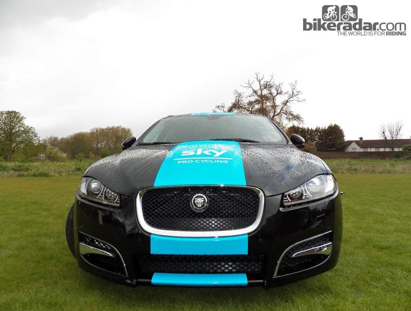 The Team Sky Jaguar Sportbrake