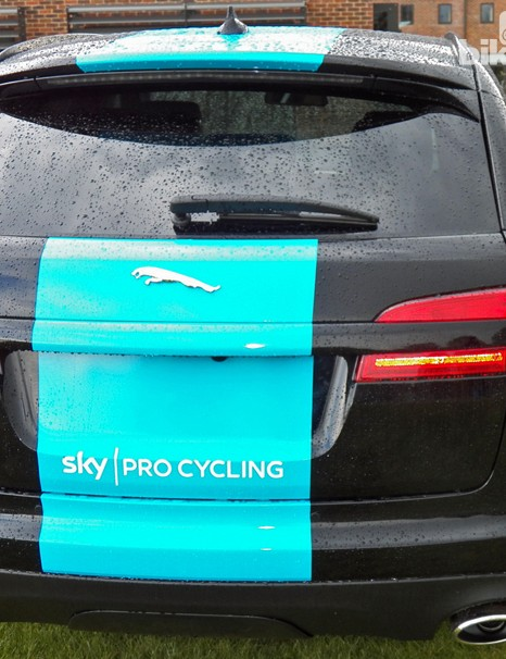 The Team Sky Jaguar Sportbrake