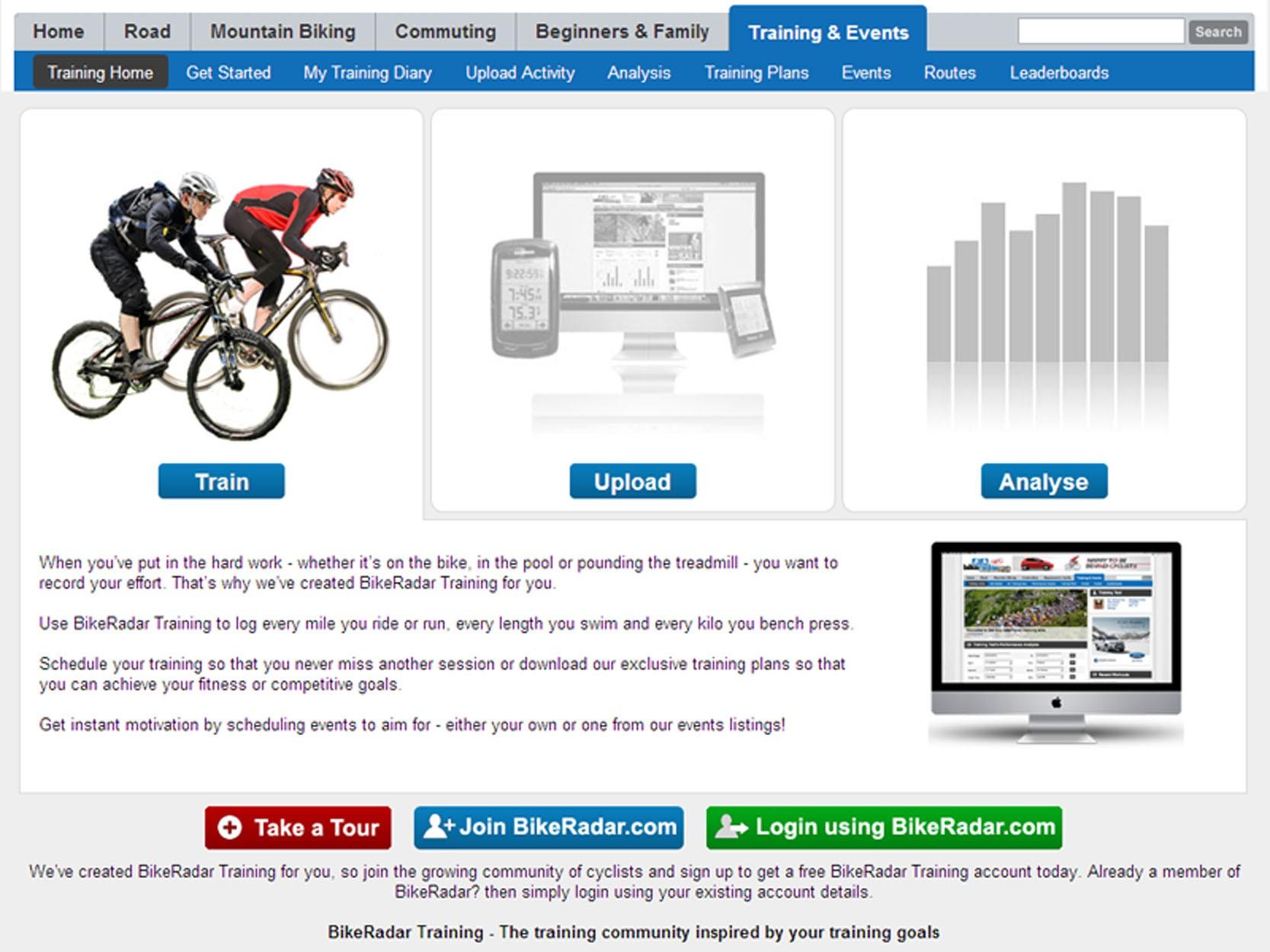 BikeRadar Training