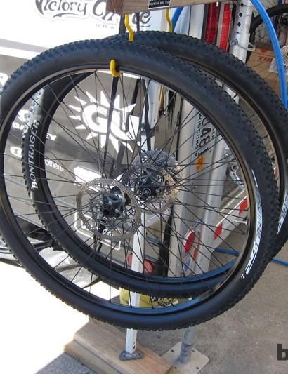 Trek-Subaru's wheels equipped with SRAM BlackBox hubs