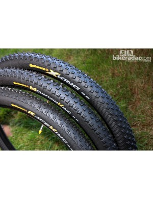 Continental add three new 29er sizes to their Revolution Tubeless Ready collection of tires: the Race King, Mountain King and X-King, all in 2.2in widths