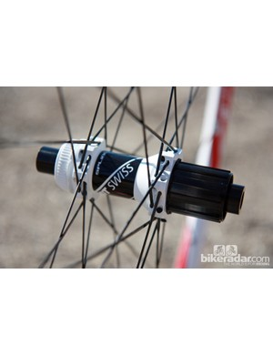 The new DT Swiss Spline mountain bike wheels will all use straight-pull stainless steel spokes