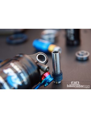 Enduro have offered these needle bearing shock eyelet kits since 2008 but longer travel applications and new suspension designs are making them more applicable than ever