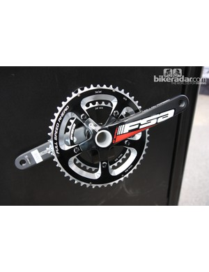 FSA update the graphics on the hollow forged Energy aluminum cranks for 2013