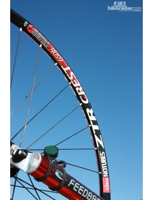 Stan's NoTubes have offered 650b rims since 2008. Back then, the initial production run of 500 rims lasted two years. Times have changed: two weeks ago, their Italian distributors bought 700 rims. Currently, riders can purchase the Crest or Flow rims in that size but more models are pending