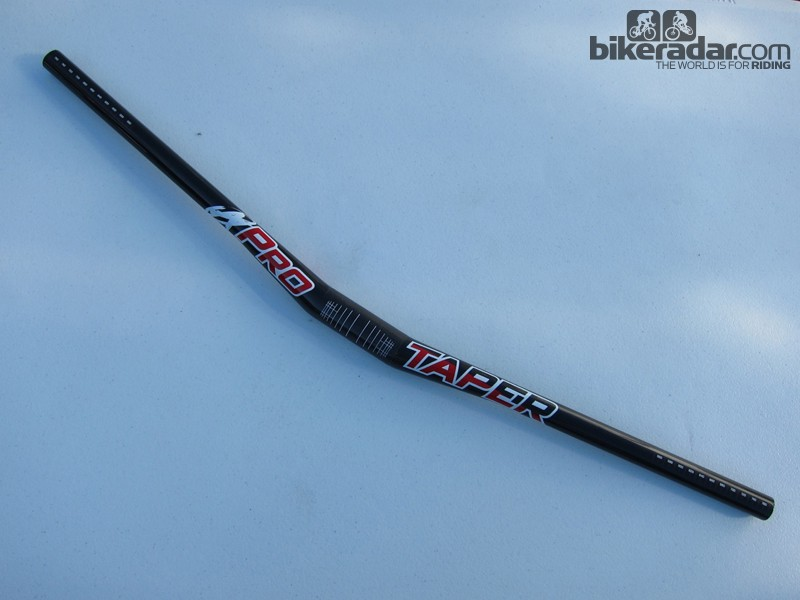 The ProTaper line is built for downhill strength, yet the new 780mm width weighs just 250g