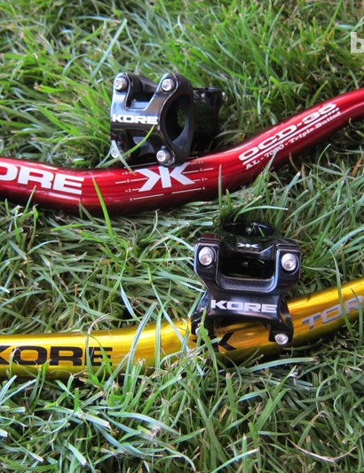 KORE's OCD and Torsion bars with the matching Durox and Repute stems