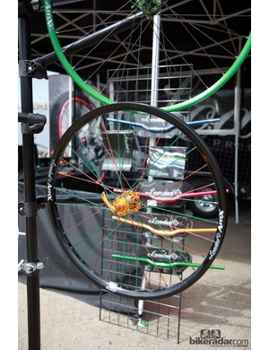 Loaded also offer complete wheelsets built with their own hubs and rims
