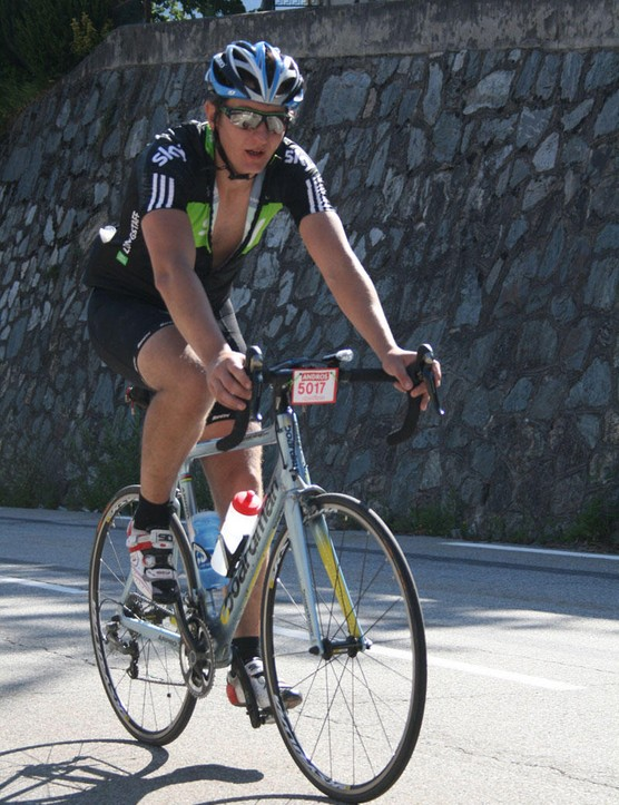 Scott Longstaff of Team BikeRadar Madison