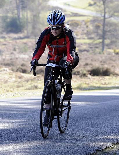 Claire Hawkins of Team BikeRadar Madison
