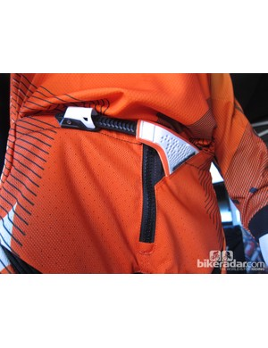 One Industries' Reactor Apex shorts are built with tough fabrics, a heavy duty zipper and a seriously stout waist cinch