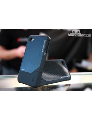 Element Case don't bother with fake vinyl 'carbon' on their iPhone cases, preferring to only use the real thing