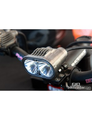 Baja Designs' Double Stryk light packs an 1,800-lumen output on the high setting. We've been testing a set for the past few months and it's been fantastic, with bomber construction quality and run times that exceed claimed values