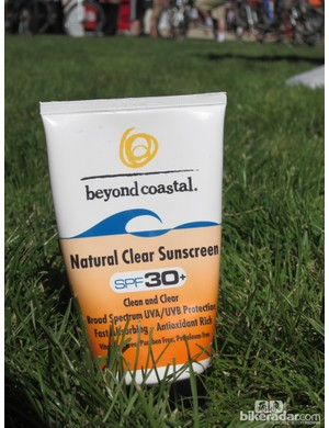 Beyond Coastal had samples of their new Natural Clear Sunscreen available at Sea Otter – a good thing given the blazing sun and scorching temperatures. The barrier-type 20% zinc oxide mineral formula provides full UV protection without the need for nasty chemicals