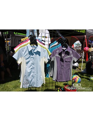Club Ride's women's-specific range includes four jersey styles and two shorts, all with multiple color options
