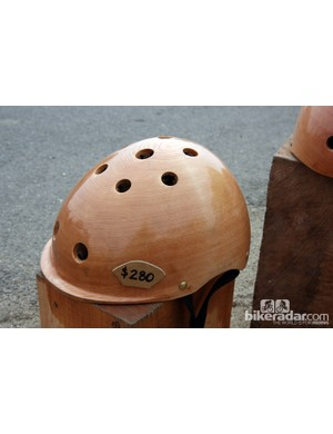Coyle's wooden helmets aren't cheap but they're likely to find appeal with riders seeking someone truly unique. Custom helmets are available, too