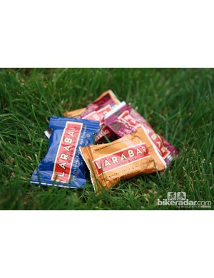 Larabar were handing out samples of the new Blueberry Muffin and Chocolate Chip Cherry Torte flavors at Sea Otter