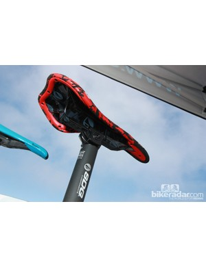 SDG's Duster saddle is offered with either I-Beam or traditional rail interfaces