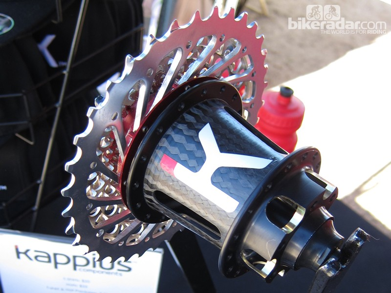 Kappius's Evolution rear hub offers 1.5-degree engagement and only weighs 270g