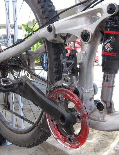 Norco's 650b prototypes use the company's four-bar ART suspension design