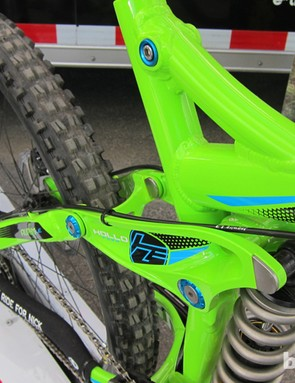 Dustan Sept, Norco's marketing manager, said that cable routing has been refined too and that the cable boss will be removed from the upper shock link