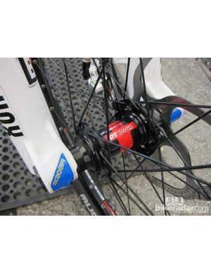 DT Swiss hubs for Danny Hart (Giant Factory Off-Road Team)