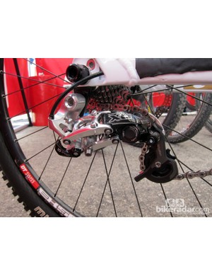 SRAM's new Type 2 rear derailleurs should not only provide better chain control for downhillers like Danny Hart (Giant Factory Off-Road Team) but should also quiet things down considerably