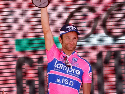 Michele Scarponi - last year's Giro winner