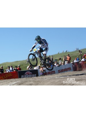 Graves wasn't on his usual flying form at Sea Otter, finishing 17th in the dual slalom